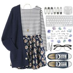 Lovely girl by raquel-t-k-m on Polyvore featuring Wood Wood, Converse, Pieces and BOBBY