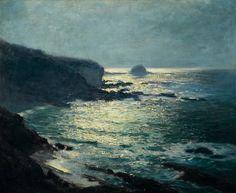 Guy Orlando Rose, Moonlight - Arch Beach, Laguna