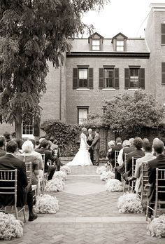 Dectaur House in Washington, D.C....Brides: The Best Wedding Venues In The U.S. | Real Brides