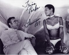 trina parks - first black Bond girl.