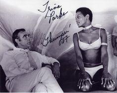 trina parks - first black Bond girl.