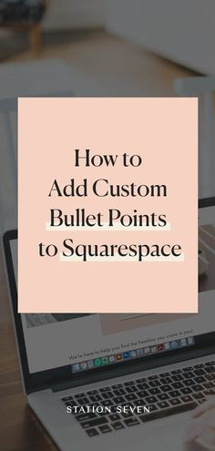 Custom bullet points are a great way to customize your website and show off your style! Our blog post covers the different ways to create your own!