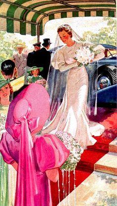 Free Image on Pixabay - Bride, Lady, Retro, Vintage Wedding Gowns, Wedding Day, Wedding Pics, Budget Wedding, Wedding Bride, Wedding Ceremony, Images Vintage, Retro Vintage, Vintage Romance