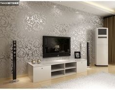 Online Shop Fashion European Style PVC Wallpaper / wall paper rolls / tv wallpaper / suitable for bedroom / living room / TV setting 4 Color|Aliexpress Mobile