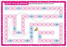Maan Roos Vis | Magnetische rekendoos | Werkblad 'plaats van de getallen | Rekenen | Zwijsen Circuit, Bar Chart, Periodic Table, Map, Periodic Table Chart, Periotic Table, Location Map, Bar Graphs, Maps