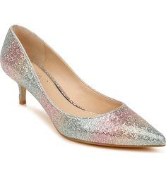 Royalty Pump Kitten Heel Pumps, Women's Pumps, Bridal Heels, Boot Shop, Anniversary Sale, Badgley Mischka, Wedding Shoes, Jewels