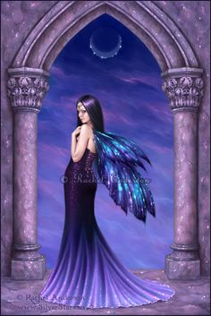 Mystique - art by Rachel Anderson - http://silverstars.us