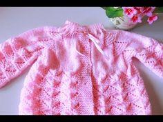 CASAQUINHO PALA PINHEIRINHO | RECEITA E VÍDEO PASSO A PASSO| TRICÔ – Tricotando Crochê Baby Cardigan, Crochet Cardigan, Baby Knitting Patterns, Free Crochet, Knit Crochet, Baby Girl Crochet, Knitting Videos, Cute Baby Girl, Baby Sweaters