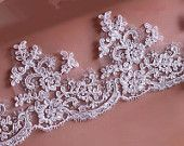 Beige trim lace,lace trim for bridal veil,wedding veil,bridal headpiece,Wedding lace trim,WL029