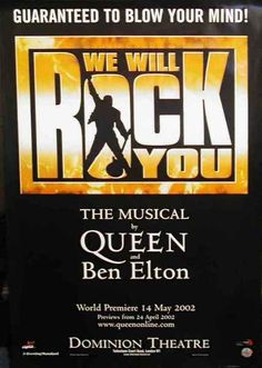 We Will Rock You Musical will close in London after 12-year run. Read more: http://circleme.com/activities/1383466  #WeWillRockYou