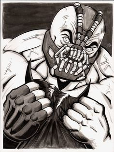 Dark Knight Rises - Bane Art