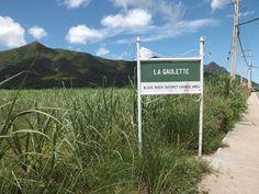 La Gaulette is a village on the west coast of Mauritius Island