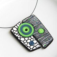 Geometrical pendant (inspired by Eva Hašková) | Flickr - Photo Sharing!