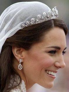 Kate's tiara by Cartier