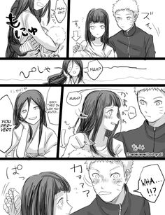 Hinata Feeding Baby Bolt Pg3 by bluedragonfan