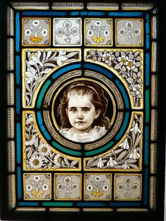 Rare English Victorian Stained Glass Window ~  gorgeous. (click it on)