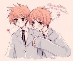 Hikaru x Kaoru . Ouran Host Club