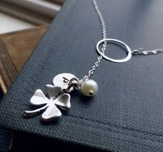 Perfect bridesmaid neclace for st pattys day wedding #3.17.07 mint charm