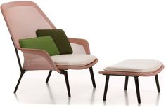 It's the Slow Chair in red/cream by Ronan and Erwan Bouroullec for Vitra.