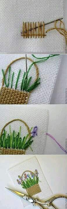 Thrilling Designing Your Own Cross Stitch Embroidery Patterns Ideas. Exhilarating Designing Your Own Cross Stitch Embroidery Patterns Ideas. Embroidery Designs, Hand Embroidery Stitches, Embroidery Techniques, Needlepoint Stitches, Embroidery Applique, Cross Stitch Embroidery, Cross Stitch Patterns, Needlework, Flower Embroidery