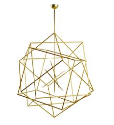 geometric pendant light