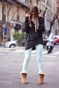 http://fancy.to/rm/460322971890751181  Usually I wouldn't wear uggs but this outfit doesn't look bad at all