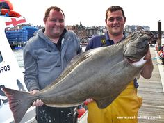 Caught April 2012 whilst wreck anchoring at Whitby Sea Angling, Halibut Fishing