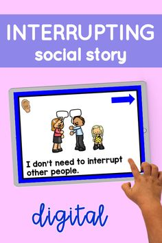 Now you can LISTEN to a supportive social story! These short social narratives target important topics such as interrupting, asking for help, letting others help us, and coping when it's not your turn. Tough subjects made easier with these child-friendly ebooks.