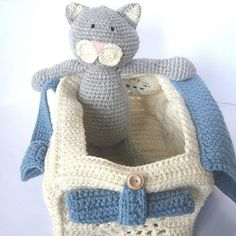 Pet Cat Crochet Pattern-$6.00