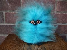 Rare collectable BLUE GLOOK GONK 60'S 70'S Retro toy | eBay