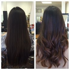 Hair Color Asian Balayage Ideas For 2019 Subtle Balayage, Brown Hair Balayage, Hair Color Balayage, Hair Highlights, Ombre Hair, Bayalage, Asian Balayage, Subtle Highlights, Hair Color Asian