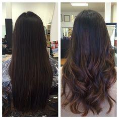 Hair Color Asian Balayage Ideas For 2019 Brown Hair Balayage, Balayage Brunette, Hair Color Balayage, Brunette Hair, Hair Highlights, Ombre Hair, Subtle Balayage, Bayalage, Asian Balayage