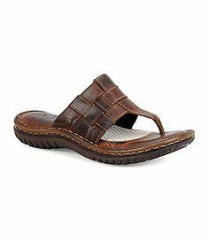 Born Viv Casual Sandals leather tan, black 1.5h (89.00) NA