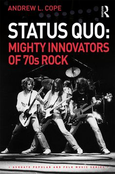 Buy Status Quo: Mighty Innovators of Rock by Andrew L. Cope and Read this Book on Kobo's Free Apps. Discover Kobo's Vast Collection of Ebooks and Audiobooks Today - Over 4 Million Titles! Status Quo Live, Rick Parfitt, Famous Singers, Folk Music, Classic Rock, Innovation, Audiobooks, Ebooks, This Book