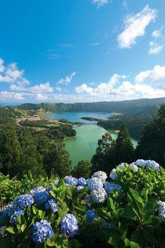 Sete Cidades Lake, Azores, Portugal