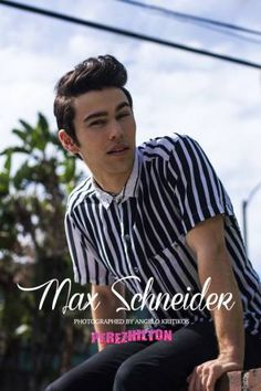 Official site for MAX. Includes news, tour dates, videos, webstore, and more! Max Schneider, Celebrity Crush, Famous People, Mens Sunglasses, Singer, Photoshoot, Actors, Fashion Outfits, Celebrities