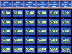 13 Best Bible jeopardy images in 2017 | Bible school games