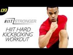 30 Min. HIIT: Total Body Kickboxing Workout | HIIT/STRONGER: Day 09 - YouTube