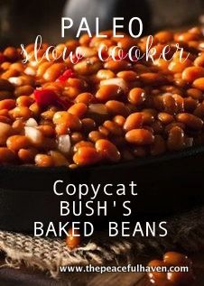 YUM!  Gluten Free Copycat recipe for Bush's Baked Beans!!  Just in time for picnic season!