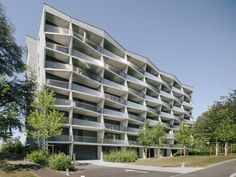 Completed in 2015 in Geneva, Switzerland. Images by Miguel de Guzmám               . The building is located on the higher grounds of Geneva's Mervelet neighbourhood. At the heart of a rapidly changing residential area, the site has...