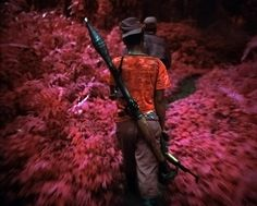 Infrared Conflict by Richard Mosse