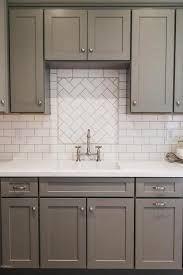 Image result for subway tile in kitchen backsplash picture
