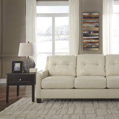 Fiona Leather Sofa