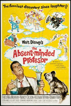 The Absent Minded Professor movie poster