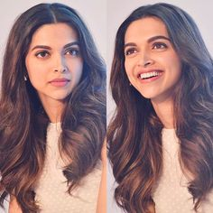 Blue and pink flower wallpaper for your phone Deepika Hairstyles, Hairstyles For Gowns, Haircuts For Long Hair, Indian Hairstyles, Cool Hairstyles, Layered Hairstyles, Indian Celebrities, Bollywood Celebrities, Bollywood Images