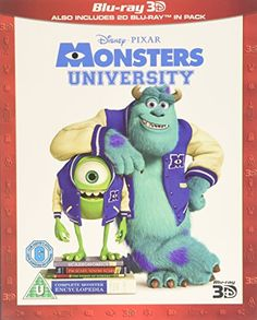 Monsters University (Blu-ray 3D + Blu-ray) [Region Free] Walt Disney Home Entertainment I didn't think they could beat the original but they did and the 3D was awesome well done Disney Pixar 5*****