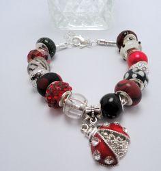 Ladybug Charm Bracelet.... I WANT!!