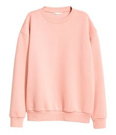 H&M Sweatshirt $25 :: Long-sleeved sweatshirt with ribbing at cuffs and hem. Soft, brushed inside.