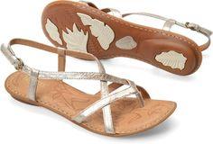 Born Mai in Panna Cotta - Born Womens Sandals on Bornshoes.com
