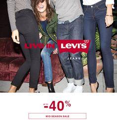Mid season sale up to -40% #levis #sale #sale40 #midseason